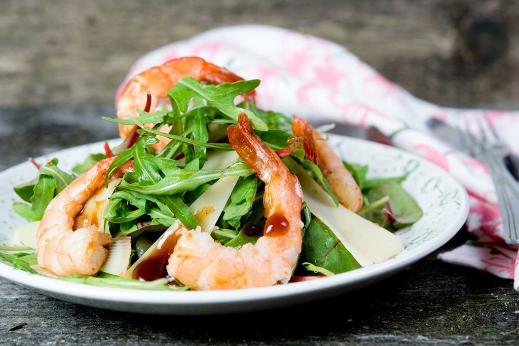Lunch-Arugula-Shrimp